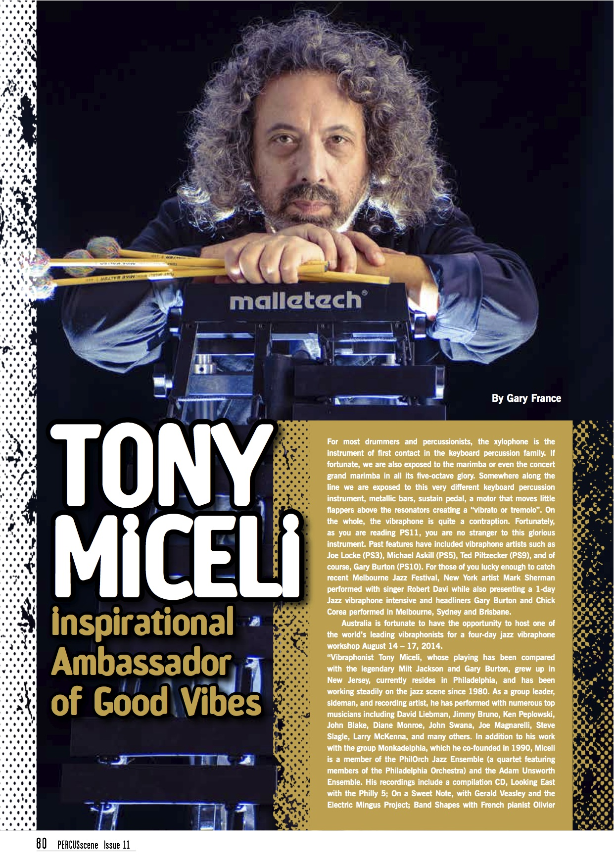 Tony Miceli: Inspirational Ambassador of Good Vibes